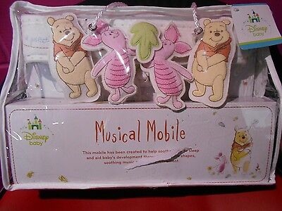 Disney baby Winnie the Pooh Musical Wind-up Mobile