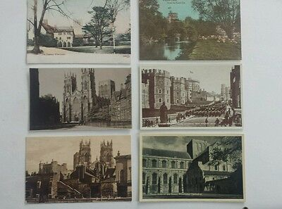 Old Unused Postcards X6