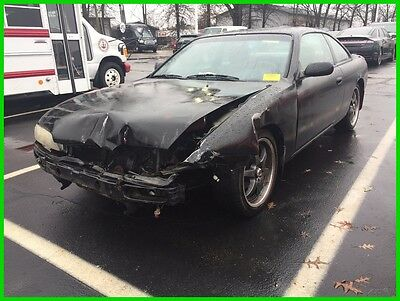 1995 Nissan 240SX  Used 95 Nissan 240SX  2.4L Manual Coupe Black Cloth Mechanic Special No Reserve