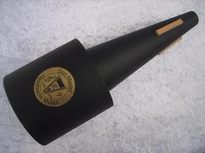 The iconic DON HASLET TENOR TROMBONE Straight, [Fat End] Mute ~ Clearance Price!