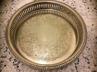 Silver (white metal) Wine Drinks Tray (23)