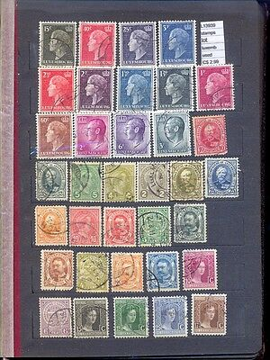 Stamps Lot Luxembourg  Used  (L13939)