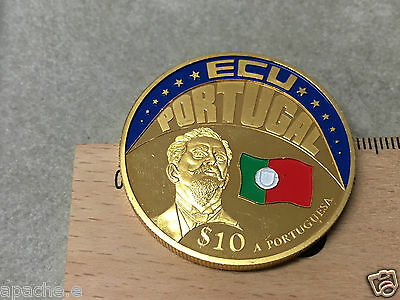 ECU Potugal $10 A Portuguesa Republic Of Liberia 2001