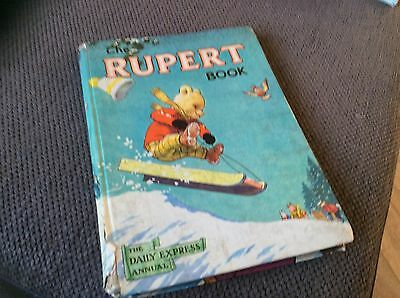 Original Rupert Annual 1956,painting Contest Not Entered.no Scribbles.