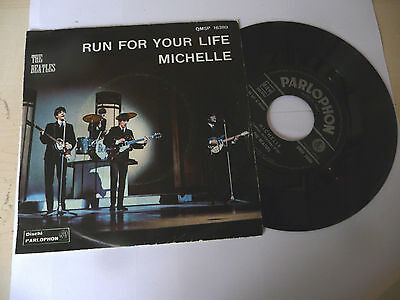 "THE BEATLES "" MICHELLE-disco 45 giri PARLOPHON  It 1966"" (A)-OTTIMO"