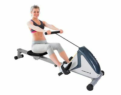 New Fortis Flywheel Rowing Machine Magnetic Exercise Rower Fitness Home Gym
