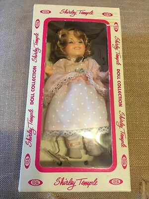 Shirley Temple Doll Ideal 1982 Pink Box