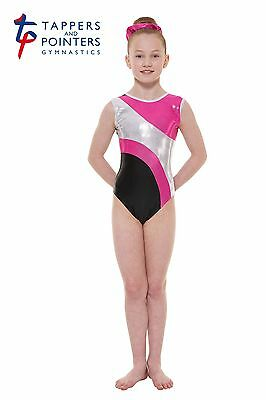 Gymnastic & Dance Wear Leotard Tappers & Pointers Gym 41 Pink Size 2 = 9/10 Yrs