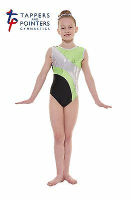 Gymnastic & Dance Wear Leotard Tappers & Pointers Gym 37 Apple  Size 1 = 6/8 Yrs