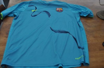 Barcelona Nike Away Football Shirt Mens Size Xxlarge Used Excellent