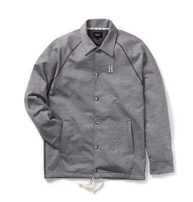 HUF Jacket Sweat-Jacket grey Größe L