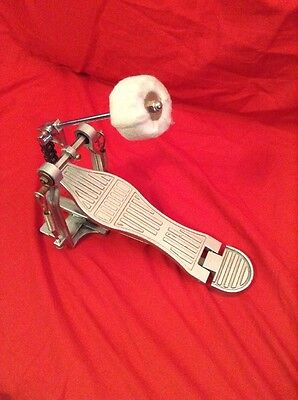 Free P&P. Generic Chain Drive  Bass Drum Pedal For Drum Kit