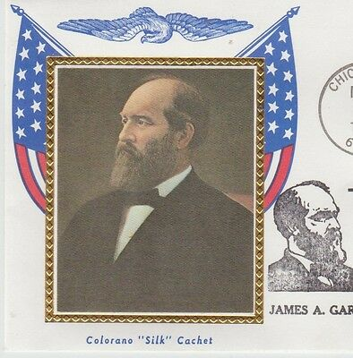 First day issue, Presidential Miniature Sets, James A. Garfield, # 2218b