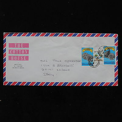 ZS-AB845 ST VINCENT - Airmail, To Milan Italy Cover
