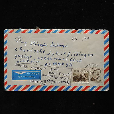 ZS-AB984 TURKEY - Airmail, To Germany Cover