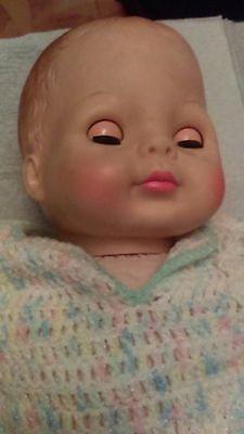 Adorable Vogue Doll Molded Hair  1965 Baby Dear Needs A Loving Home