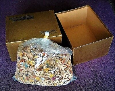 """Vintage Victory Gold Box 2000 Piece Jigsaw """"the Old Mill Stream"""" Unstarted"""