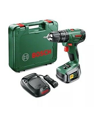 Bosch 18v Lithium-Ion Cordless Combi Drill, Battery Charger & Case PSB 1800 LI-2