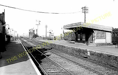 Sheppey. 8 Queenborough Railway Station Photo Sheerness Sittingbourne