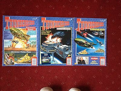 Thunderbirds Comics (Collectors Edition) 3 Issues