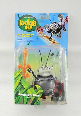 1998 A Bugs Life Francis & Slim Action Figures
