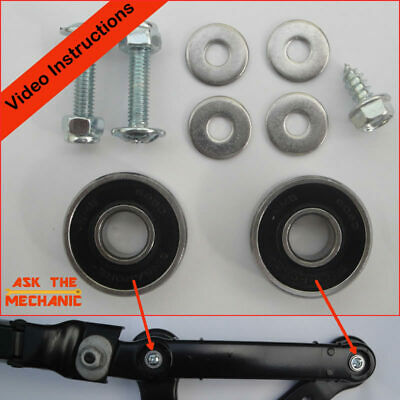 BMW 5 & 6 Series E60 E61 E63 Drivers Wiper Arm Bearings Repair Kit B Later Type