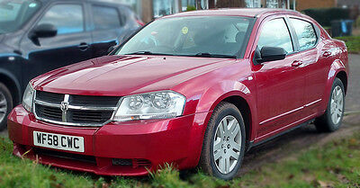 Dodge Avenger Diesel 2.0 CRD 2008 (58) Red