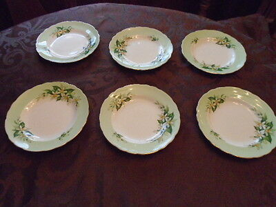 Tuscan Bone China Bridal Flower Orange Blossom 8 pieces Made in England