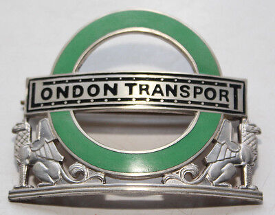 London Transport Country Bus & Coach Inspectors Badge - Silver - un-issued