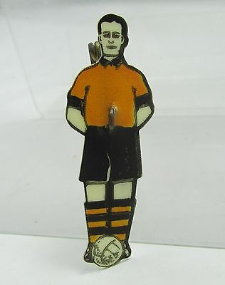 WOLVERHAMPTON WANDERERS 1949 FA CUP FINAL PIN BADGE VINTAGE 1940s WOLVES FC