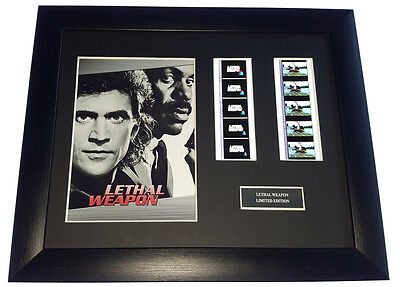 LETHAL WEAPON 35mm FRAMED AND MOUNTED FILM CELL PRESENTATION
