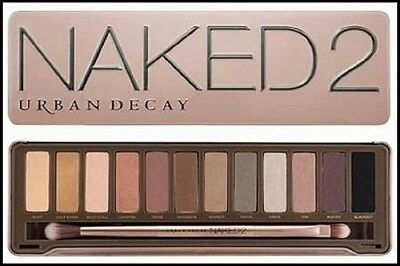NAKED 2 12 Colour Palette Professional Makeup Eye Shadow