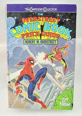 The Overstreet Comic Book Price Guide By Robert M. Overstreet (1992)