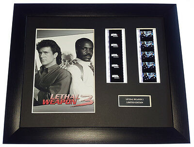 LETHAL WEAPON 3 35mm FRAMED AND MOUNTED FILM CELL PRESENTATION