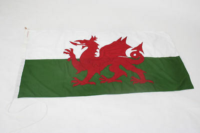 Welsh Dragon Flag SEWN, FREE BAG, direct from manufacturer, buy social