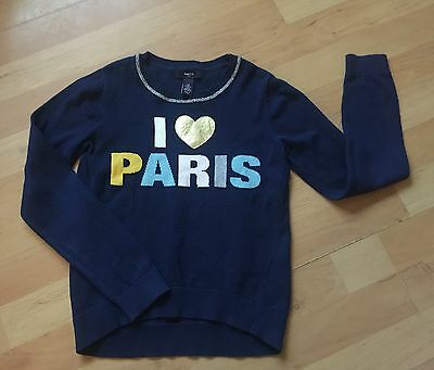 Girls Paris GAP Jumper Age 8-9 Years