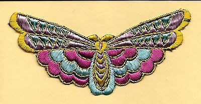 Turmac Tobacco Cigarette embroidery applique silk Butterflies Large A23 Silks 1