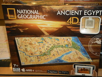 Puzzle 4D Antiguo Egipto National Geographic