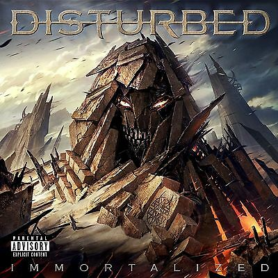 Disturbed - Immortalized - ''limited Deluxe Edition Cd '' Free Uk P&p