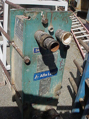 102 sq. ft. PLATE HEAT EXCHANGER STAINLESS STEEL ALFA LAVAL