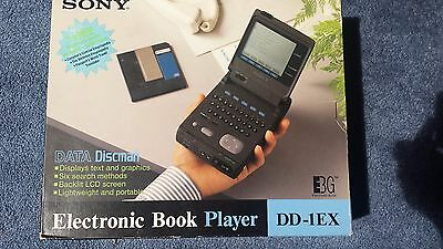 Vintage SONY DATA  DISCMAN Electronic Book Player, DD-1EX, New