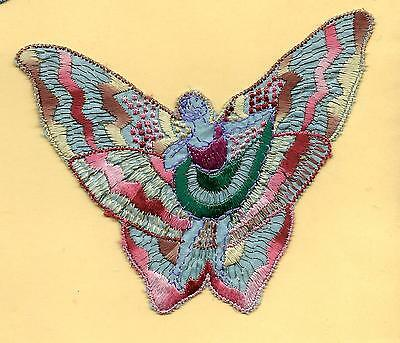 Turmac Tobacco Cigarette embroidery appliques silk Butterfly Girls A34 Silks 1