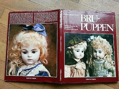 Bambola Antica Bru Biscuit  Doll Puppen Poupee Libro  Book