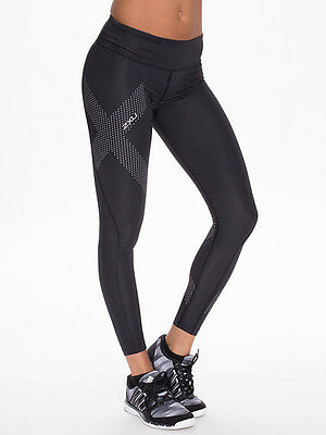 2XU Mid Rise Women's Compression Running Tights