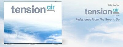 Tension Air By Abex - 10 Ft Telescoping Modular Display - No Fabric Included