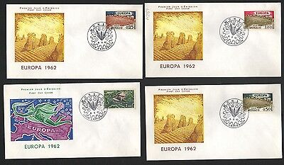 ZS-K155 MONACO - Europa Cept, Fdc 1962, On 3 Covers