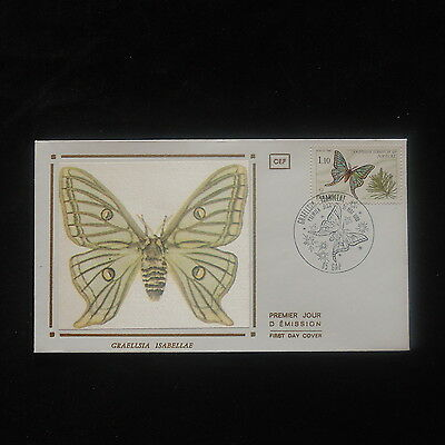 ZS-O487 BUTTERFLIES - France, 1980 Fdc Graellsia Isabellae Cover
