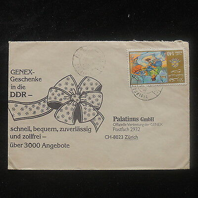 ZS-O987 ALGERIA IND - Paintigs, Great Franking To Switzerland 1981 Cover
