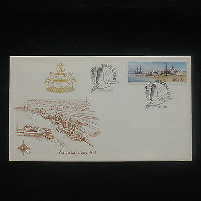 ZS-P212 SOUTH AFRICA IND - Fdc, Paintings Of Walvisbaai Bay, Viewes 1978 Cover