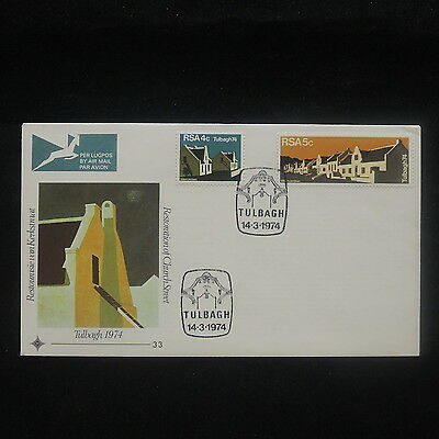 ZS-P217 SOUTH AFRICA IND - Fdc, Paintings, Restoration Church Street 1974 Cover